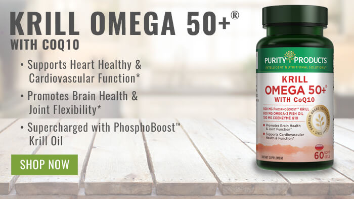 Krill Omega-3 50 Plus with CoQ10