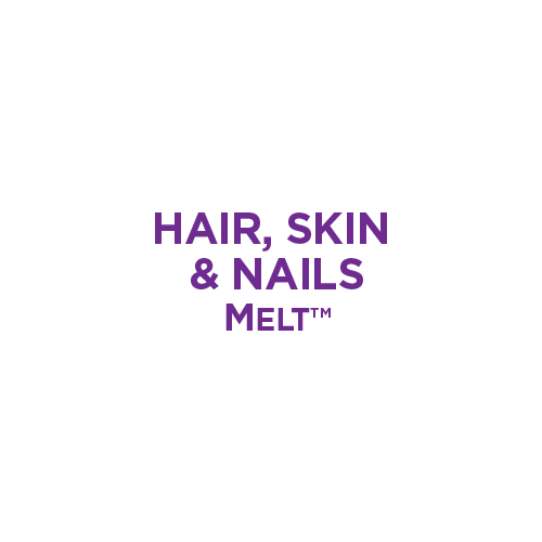 Hair Skin and Nails Melt Infographic