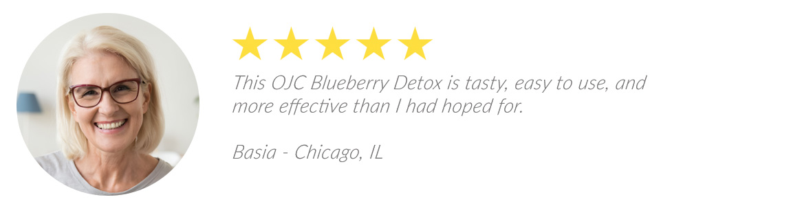 OJC Blueberry Detox Review