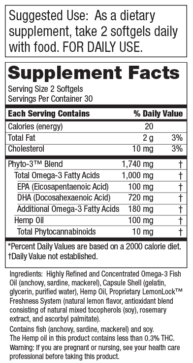 C<span>ore</span> B<span>asic</span>™ - Omega-3 Fish Oil + Hemp Oil