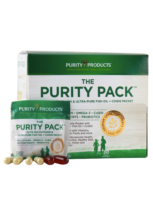 Purity Pack (Multi + Fish Oil + CoQ10)
