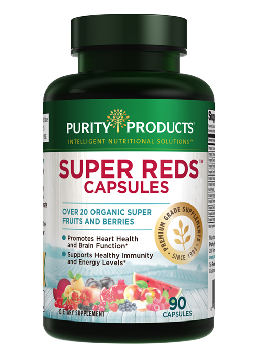 Super Reds Capsules (with 20+ Organic Super Fruits & Berries)