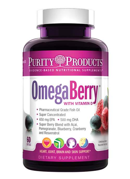 OmegaBerry with Vitamin D3 & Organic Acai
