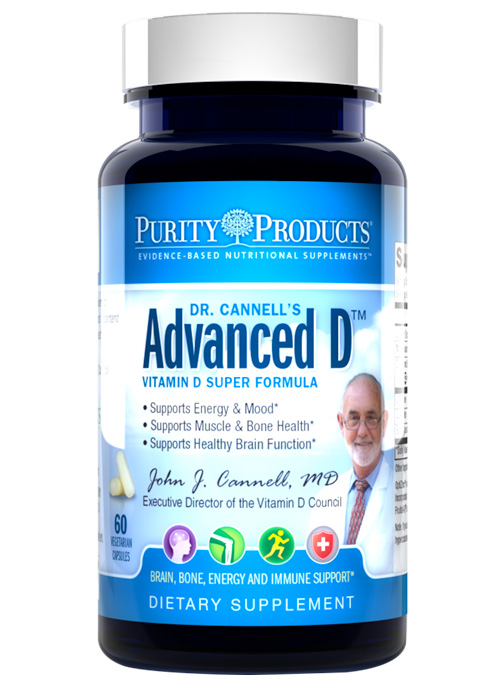 Dr. Cannell's Advanced D without Vitamin K