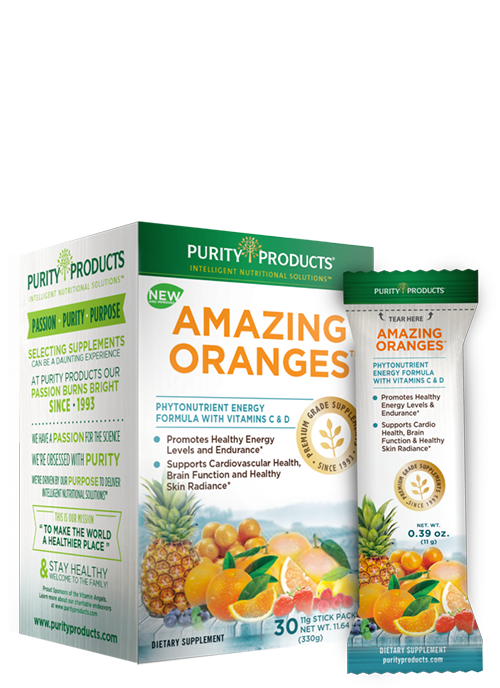 Amazing Oranges 30 Packets With 500mg Vitamin C