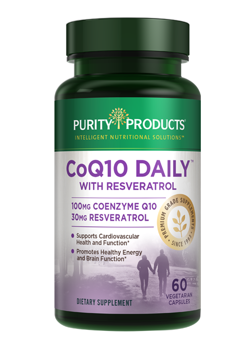Coq10 Daily With Resveratrol