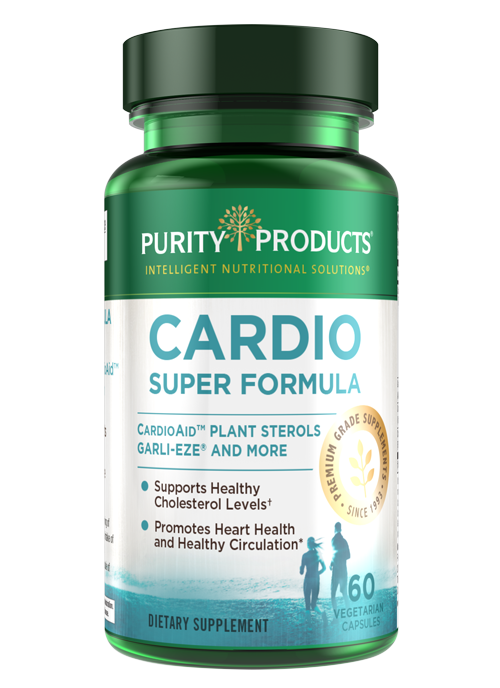 Cardio Super Formula provides advanced cardiovascular support with the power of plant sterols in combination with high allicin buffered garlic.