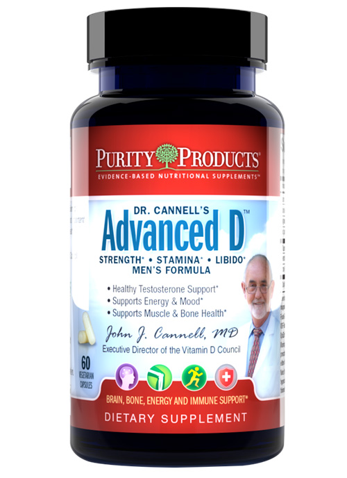 Dr. Cannell's Advanced D Men's Formula
