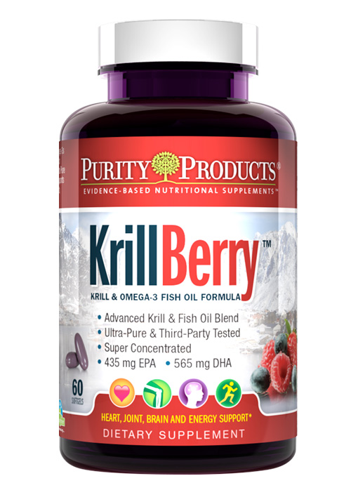 KrillBerry - Krill Omega-3 Super Formula + Berries