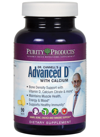 Dr. Cannell's Advanced D with Calcium and Magnesium