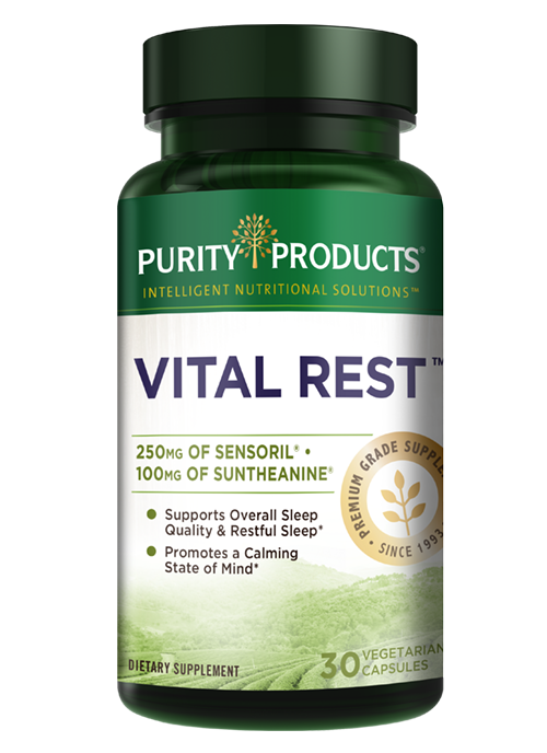 Vital Rest - Dual-Action Stress & Sleep Formula