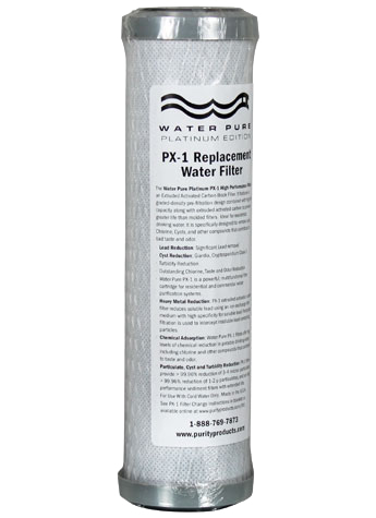 Water Pure Platinum PX-1 / PB-1 High Performance Replacement Filter
