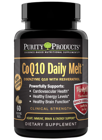 CoQ10 Daily Melt with Resveratrol