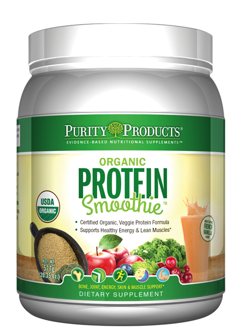 The Organic Protein Smoothie™ - French Vanilla