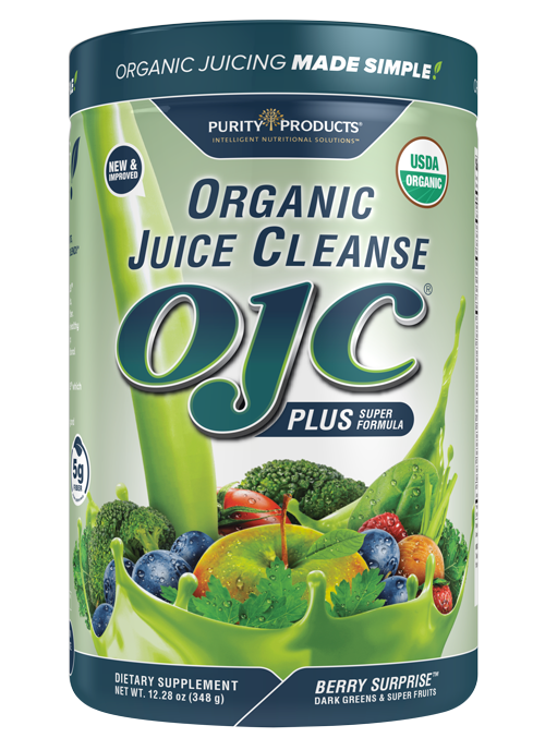 Certified Organic Juice Cleanse - OJC<sup>®</sup> Plus - Berry Surprise