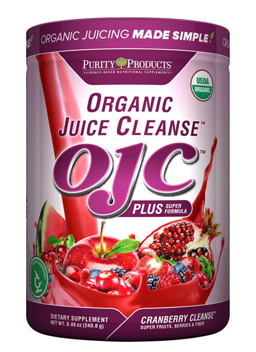 Certified Organic Juice Cleanse - OJC<sup>®</sup> Plus - Cranberry Cleanse