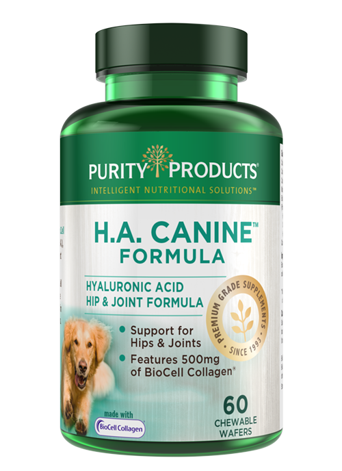 H.A. Canine Hyaluronic Acid Hip & Joint Formula