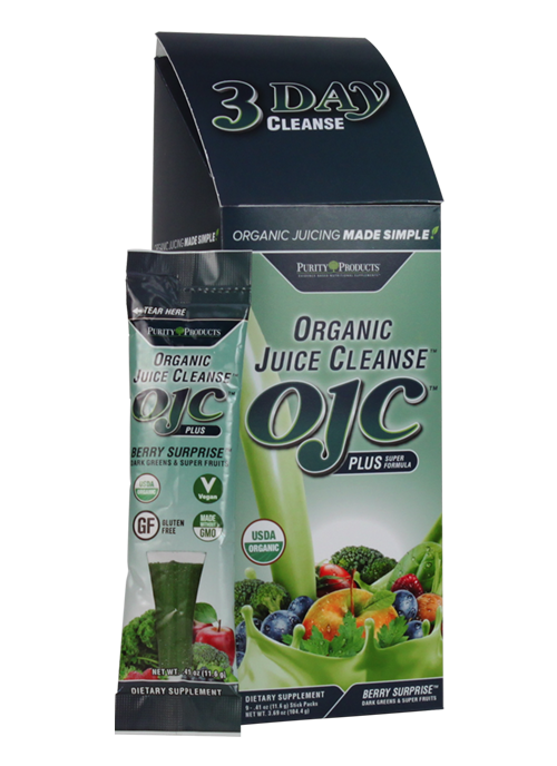 OJC  Berry Greens 3-Day Cleanse - (9 Stick Packs)