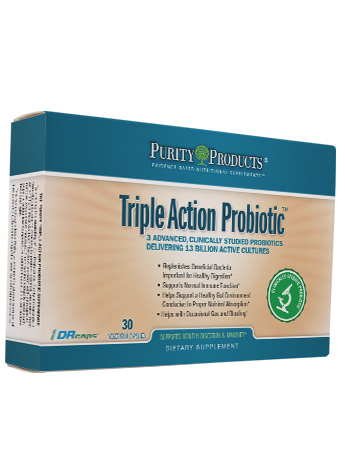 Triple Action Probiotic - (BB536 Bifido + La-14 + GastroBacillus)