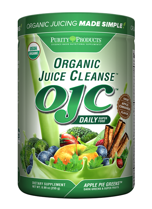 Certified Organic Juice Cleanse - OJC<sup>®</sup> Apple Pie Greens