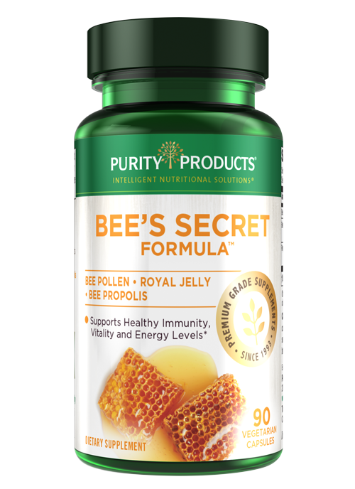 A potent combination of three legendary health-supporting extracts from the beehive.