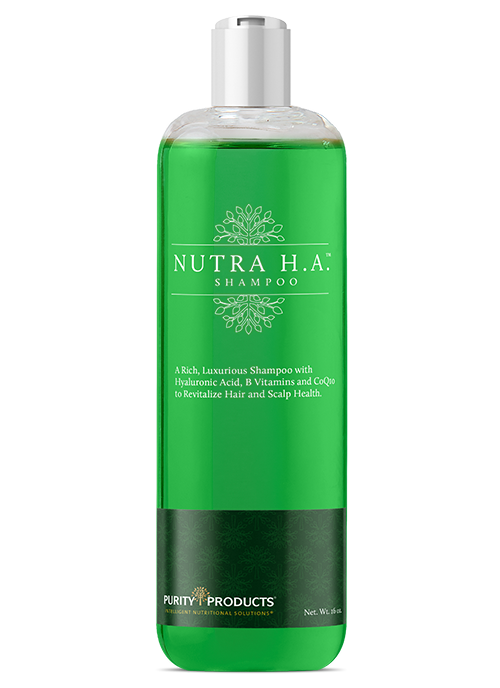 Nutra H.A. (Hyaluronic Acid) & CoQ10 Revitalizing Shampoo - 16 Oz.