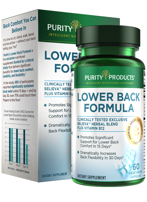 BELIEVA™ Lower Back Relief Formula