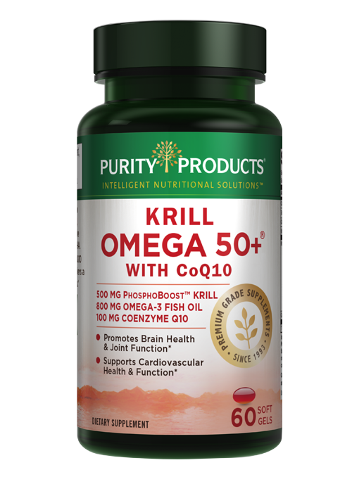 KRILL OMEGA 50+ 100 MG Co-Q10 – with PhosphoBoost