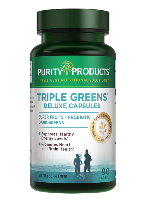 Triple Greens Deluxe Capsules