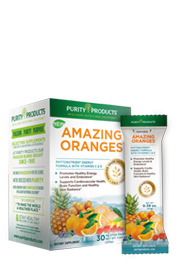 Amazing Oranges - 30 Packets - with 500mg Vitamin C