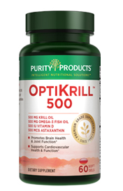 Optimized Krill 500 -- Krill 500 mg + Fish Oil 500 mg