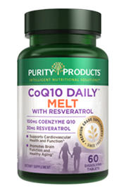 CoQ10 Daily with Resveratrol Melt