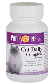 PETS - CAT DAILY COMPLETE MULTIVITAMIN