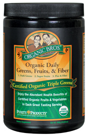 Organic Triple Greens Powder