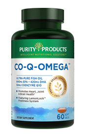 Co-Q-Omega: CoQ10 and Omega-3 Fish Oil Formula