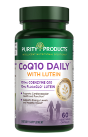 CO-Q10 DAILY-100 MG WITH 10 MG LUTEIN