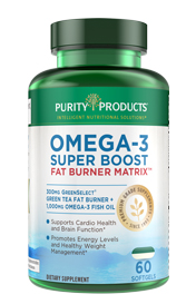 OMEGA-3 SUPER BOOST - FAT BURNER