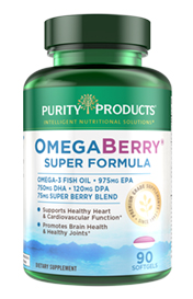 OMEGA BERRY SUPER FORMULA WITH VIT D