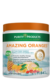 AMAZING ORANGES -- POWDER -- with 500mg Vitamin C + Electrolytes