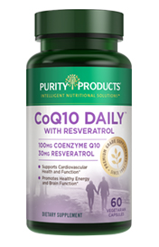 CO-Q10 DAILY RESVERATROL-100 MG CO-Q10 + 30 MG RES-CAPSULES