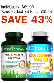 PURITY'S KID'S FISH OIL & MULTI KIT
