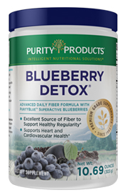BLUEBERRY DETOX - Daily Fiber Formula
