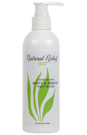 NATURAL JOINT & MUSCLE RELIEF 1222 THERAPY 8 oz. -  (3 month supply)