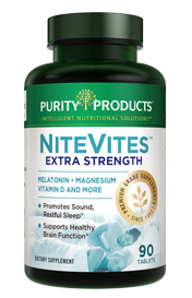 NiteVites Formula -- Extra Strength 3 mg Melatonin