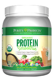 Organic Protein Smoothie -- Large Canister -- Vanilla