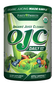 CERTIFIED ORGANIC JUICE CLEANSE - OJC - APPLE GREENS