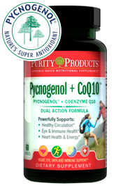 PYCNOGENOL + Co-Q10 SUPER FORMULA