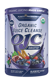 CERTIFIED ORGANIC JUICE CLEANSE - OJC - BLUEBERRY DETOX