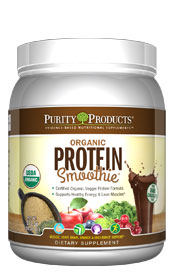 Organic Protein Smoothie -- Large Canister - Chocolate