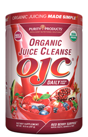 CERTIFIED ORGANIC JUICE CLEANSE - OJC SUPER REDS - W 5 GRAMS FIBER